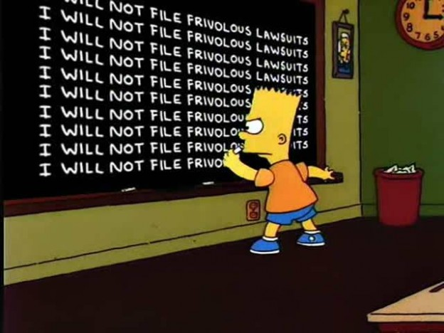 Bart-Simpson-frivolous-lawsuits